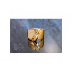 Obrączki złote grawerowane