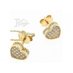 Obrączki złote diamentowane...